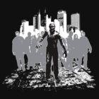 Zombie Horde by wizardoftees