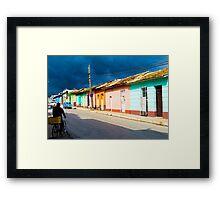 Trinidad street. Framed Print