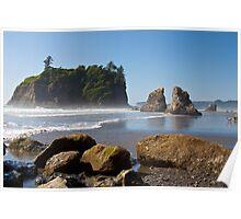 Ruby Beach, Olympic National Park, Washington Coast Poster