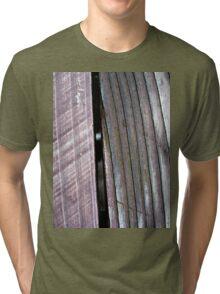 Wood Grain Tri-blend T-Shirt