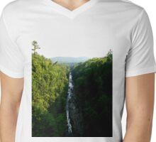 Vermont Gorge Mens V-Neck T-Shirt