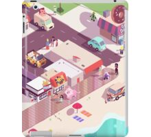 Isometric Beach City iPad Case/Skin