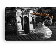 Dragon Boat Bow Canvas Print