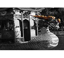 Dragon Boat Bow Photographic Print