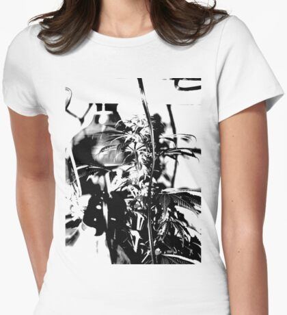 Ganja Womens Fitted T-Shirt