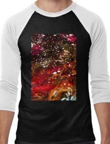 Liquid Stained Glass Men's Baseball ¾ T-Shirt