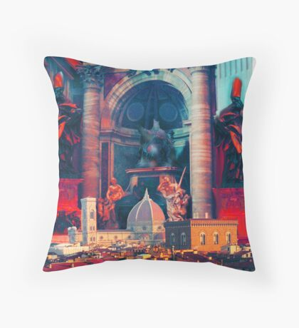 florence inside saint peters Throw Pillow