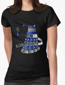 Recaffeinate Womens Fitted T-Shirt