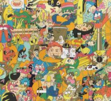 Cartoon Network Collage Sticker