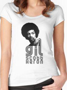 Gil Scott-Heron Women's Fitted Scoop T-Shirt
