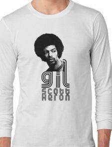Gil Scott-Heron Long Sleeve T-Shirt