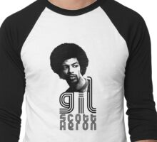 Gil Scott-Heron Men's Baseball ¾ T-Shirt