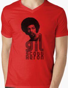 Gil Scott-Heron Mens V-Neck T-Shirt
