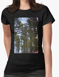 Woods In The Water Womens Fitted T-Shirt