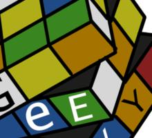 Geek Cube Sticker