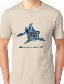 What Are You Staring At? Unisex T-Shirt