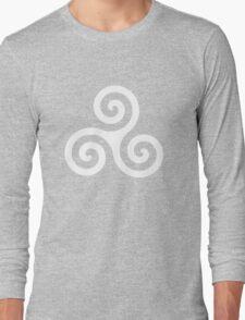 Teen Wolf - Triskele Shirt (White) Long Sleeve T-Shirt