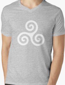 Teen Wolf - Triskele Shirt (White) Mens V-Neck T-Shirt