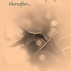 Hummingbird - Wishing You The Best by Sherry Hallemeier