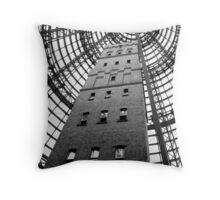 Shot Tower Melbourne Central Throw Pillow