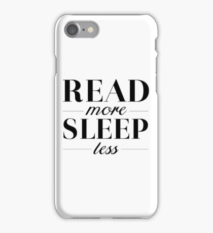 Read/Sleep iPhone Case/Skin