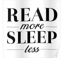 Read/Sleep Poster