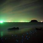 Bio-luminescent Plankton  by PerkyBeans