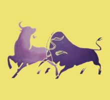 Bull Fight in Lilac Baby Tee