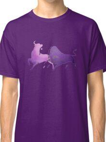 Bull Fight in Lilac Classic T-Shirt