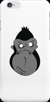 Grumpy-Goofy Gorilla by Shartzer