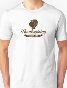 Thanksgiving Cooking Team T-Shirt