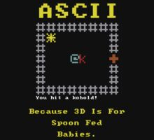 ASCII vs 3D by Daintao