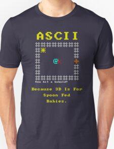 ASCII vs 3D T-Shirt