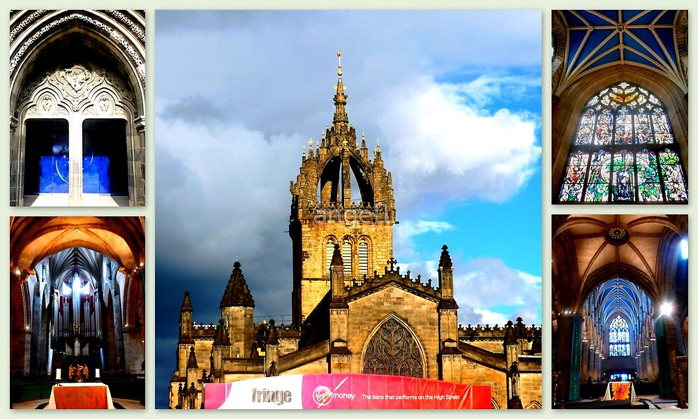 Edinburgh St. Giles Cathedral by ©The Creative  Minds