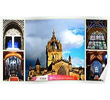 Edinburgh St. Giles Cathedral Poster