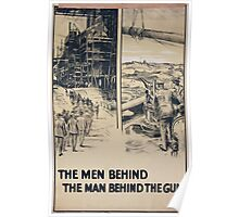 The men behind the man behind the gun 500 Poster