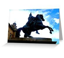Duke of Wellington Memorial ~ Edinburgh Greeting Card
