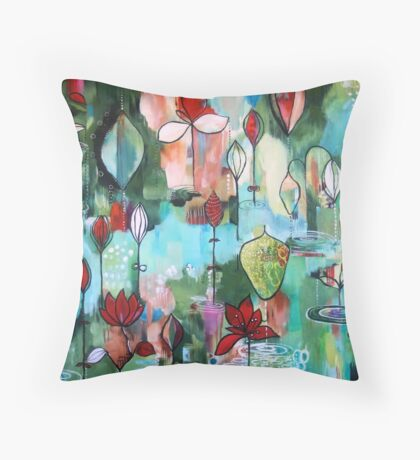 """After the Rain"" Throw Pillow"