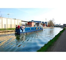 Ripples on the canal. Photographic Print