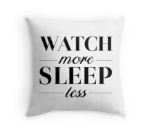 Watch/Sleep Throw Pillow