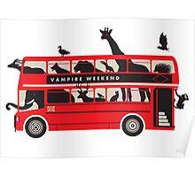 vampire weekend - bus Poster