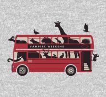 vampire weekend - bus Kids Clothes