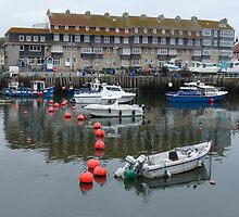 The Harbour at West Bay in Dorset by trish725