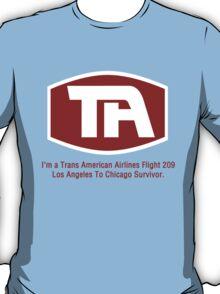 Airplane! - Flight 209 Survivor T-Shirt