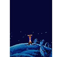 Guybrush went bone hunting! Photographic Print