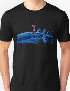 Guybrush went bone hunting! T-Shirt