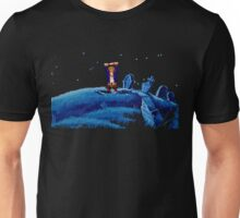 Guybrush went bone hunting! Unisex T-Shirt