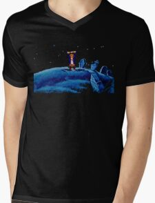Guybrush went bone hunting! Mens V-Neck T-Shirt