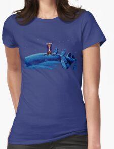 Guybrush went bone hunting! Womens T-Shirt