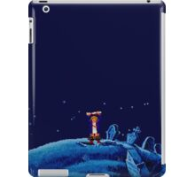 Guybrush went bone hunting! iPad Case/Skin